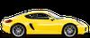 Porsche Cayman coupé 3 porte