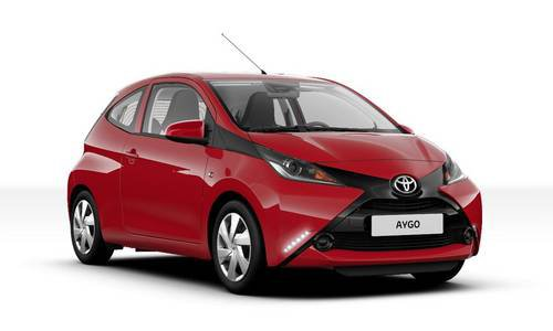 configurador del nuevo toyota aygo y lista de precios 2018. Black Bedroom Furniture Sets. Home Design Ideas