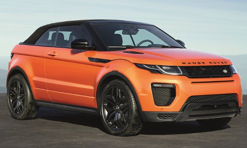 configurateur nouvelle land rover range rover evoque cabriolet et listing des prix 2018. Black Bedroom Furniture Sets. Home Design Ideas