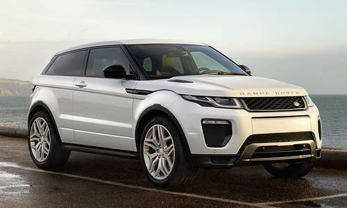 configurateur nouvelle land rover range rover evoque coupe et listing des prix 2018. Black Bedroom Furniture Sets. Home Design Ideas