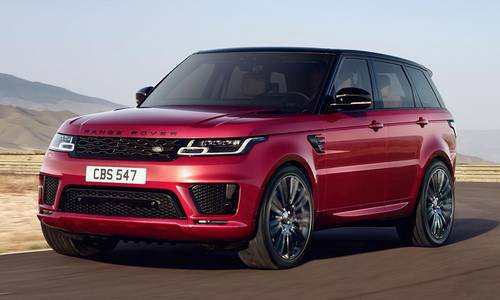 configurateur nouvelle land rover range rover sport et listing des prix 2018. Black Bedroom Furniture Sets. Home Design Ideas