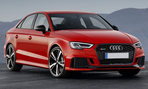 Audi Configurator and Price List for the New RS3 Saloon