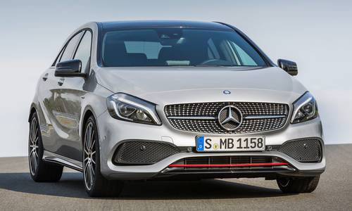 New mercedes benz a class car configurator and price list 2017 for Mercedes benz classes list