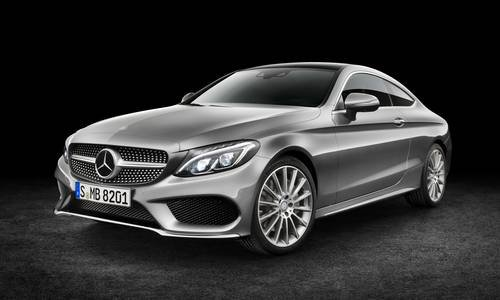 New mercedes benz c class coup car configurator and price for Mercedes benz prices list
