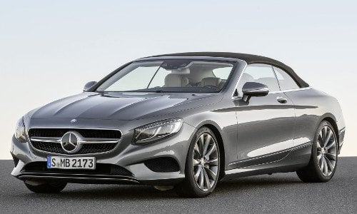 New mercedes benz s class cabriolet car configurator and for Mercedes benz e class price list