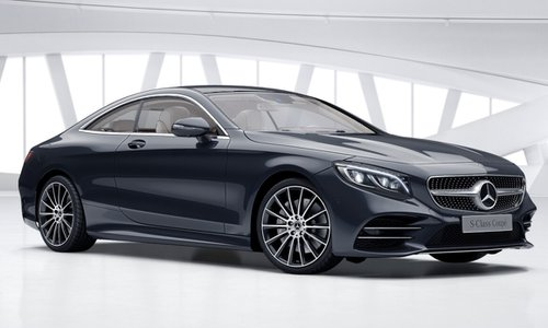 New Mercedes Benz S Class Coupe Car Configurator And Price List 2019