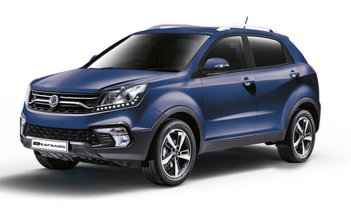 Ssangyong Configurator And Price List For The New Korando