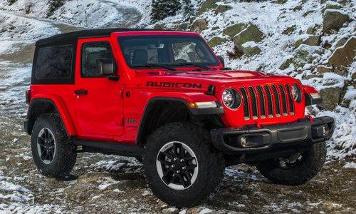 Jeep Nuova Wrangler