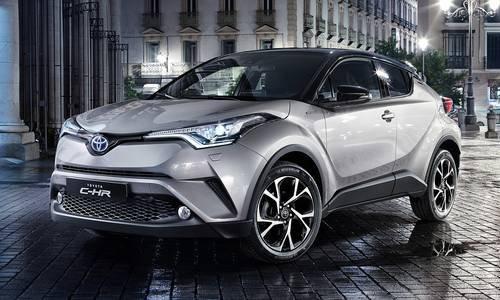 configuratore nuova toyota c-hr hybrid e listino prezzi 2018