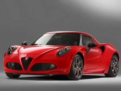 Alfa Romeo 4C Coupè