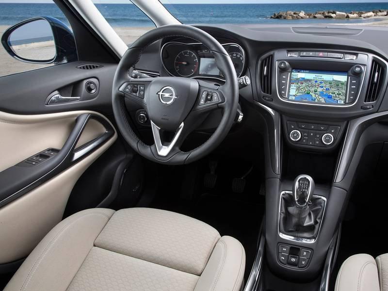 Neuwagenkonfigurator opel zafira und preisliste 2018 for Interior zafira tourer