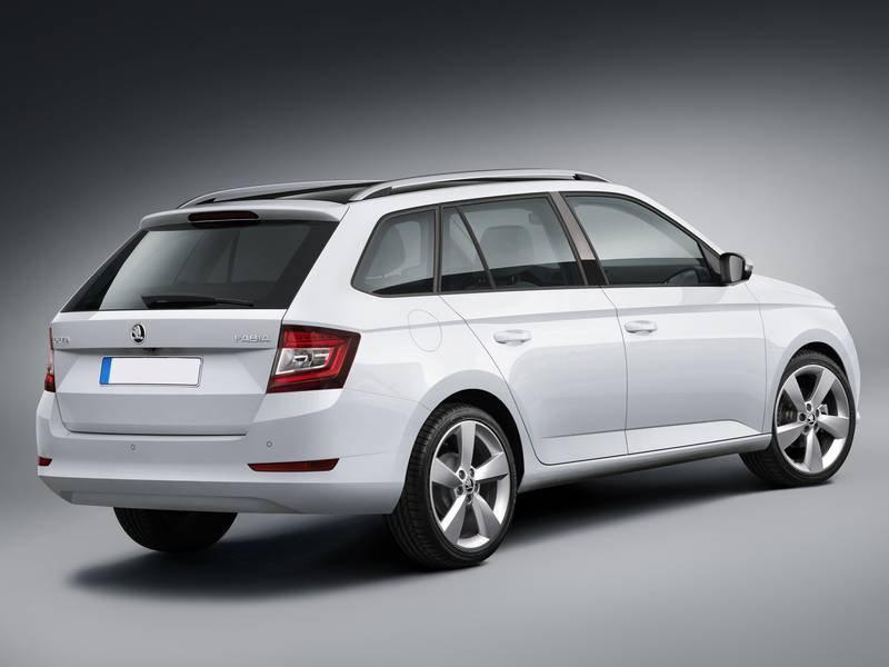 neuwagen Škoda der neue fabia combi benziner 1.0l tsi dsg soleil