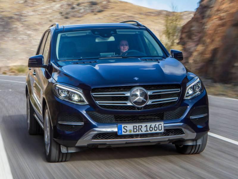 Configurador del nuevo Mercedes-Benz GLE SUV y lista de precios 2018
