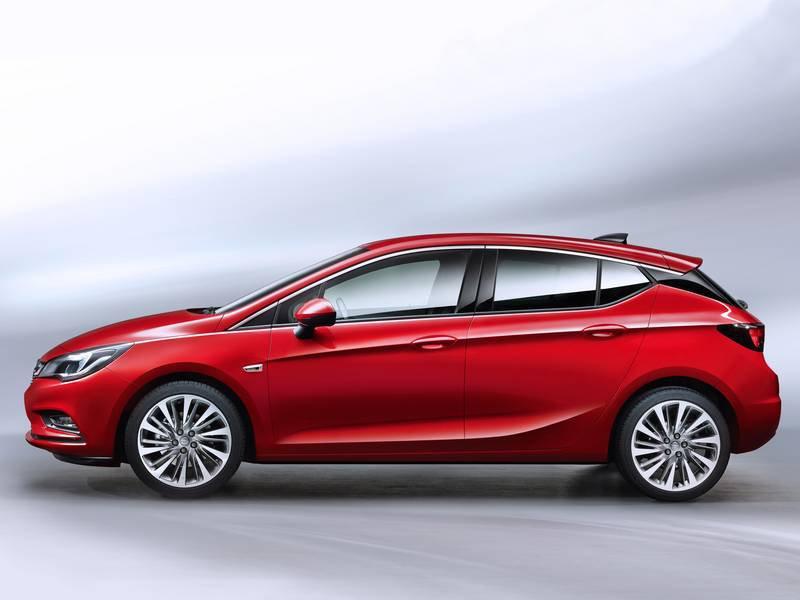 Configurador del nuevo opel astra y lista de precios 2018 - Opel astra 5 puertas ...