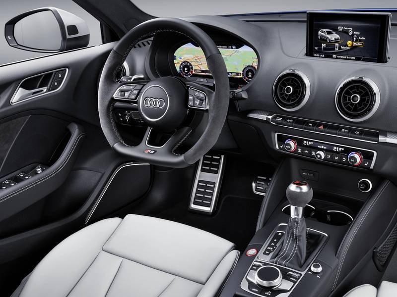 Configurateur nouvelle Audi RS3 Sportback et listing des ...