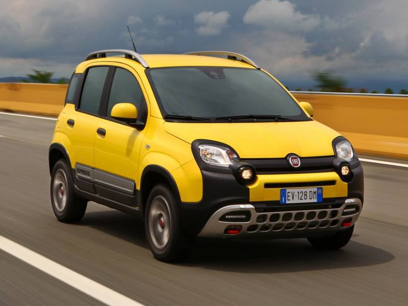 configurateur nouvelle fiat panda cross et listing des prix 2017. Black Bedroom Furniture Sets. Home Design Ideas