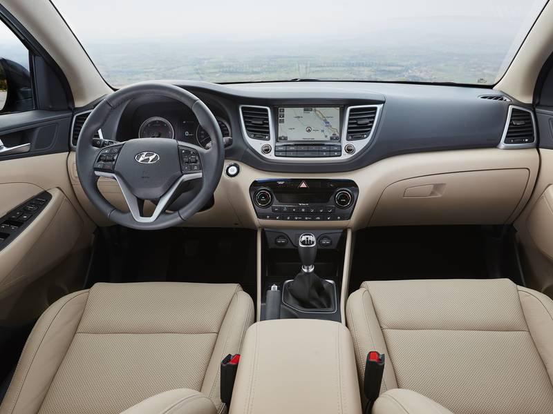 Configurateur nouvelle hyundai tucson et listing des prix 2018 - Hyundai tucson interior ...