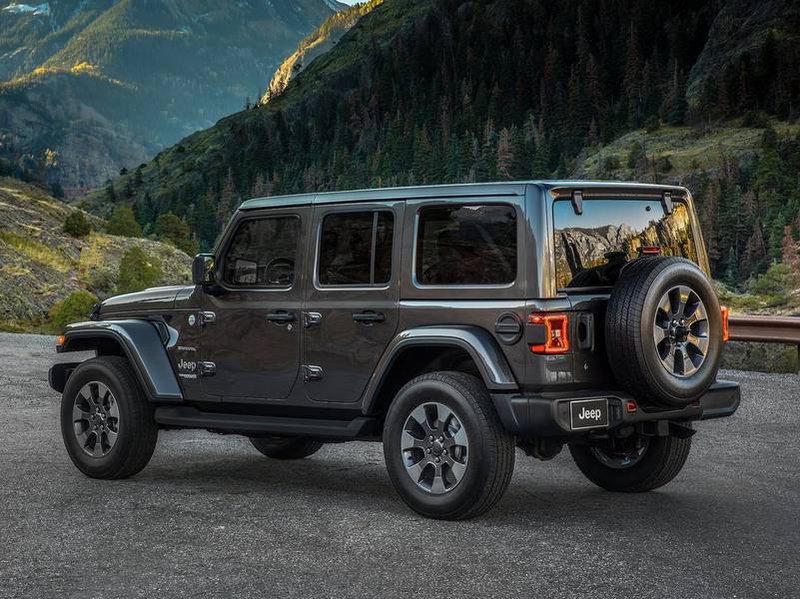 configurateur nouvelle jeep wrangler unlimited et listing des prix 2019. Black Bedroom Furniture Sets. Home Design Ideas