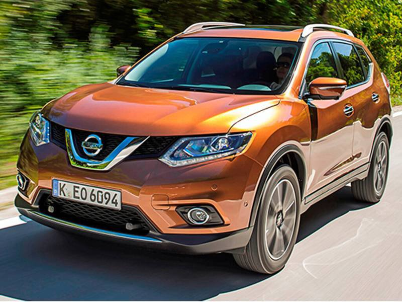 configurateur nouvelle nissan x trail et listing des prix 2018. Black Bedroom Furniture Sets. Home Design Ideas
