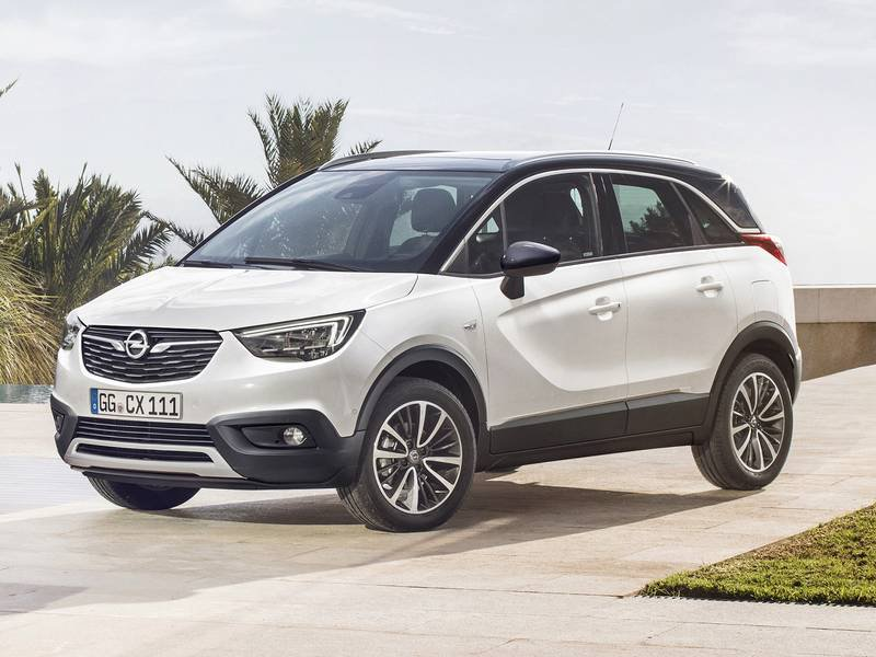 configurateur nouvelle opel crossland x et listing des. Black Bedroom Furniture Sets. Home Design Ideas