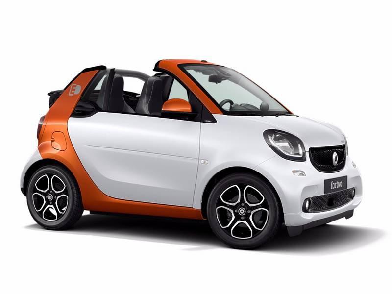 smart fortwo cabrio electric drive cabrio electrique 60kw greenflash. Black Bedroom Furniture Sets. Home Design Ideas