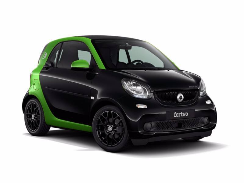 smart fortwo coup electric drive electrique 60kw greenflash. Black Bedroom Furniture Sets. Home Design Ideas