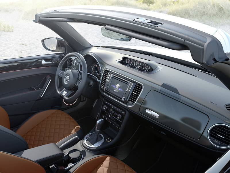 Configurateur nouvelle volkswagen coccinelle cabriolet et for Interieur new beetle