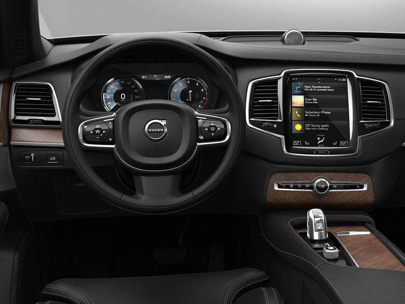 configurateur nouvelle volvo xc90 plug in hybrid et listing des prix 2018. Black Bedroom Furniture Sets. Home Design Ideas