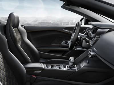 Interior gt R8 Spyder gt R8 gt Audi configurator UK