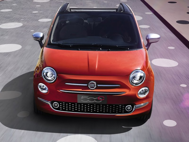 New Fiat 500c Car Configurator And Price List 2018