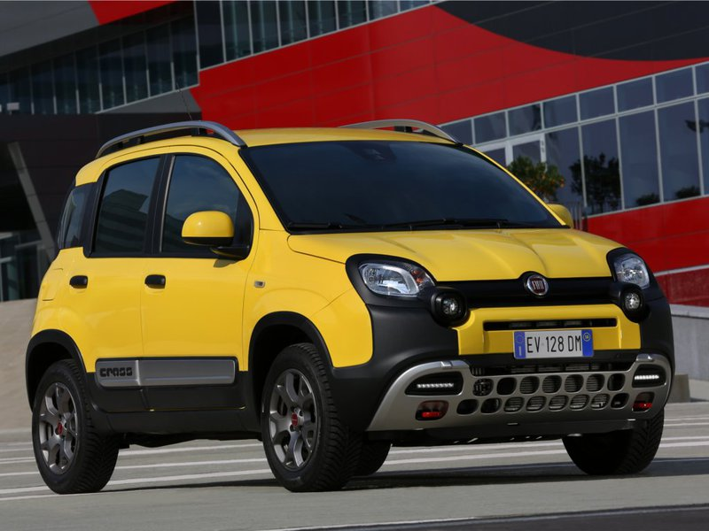 new fiat panda cross car configurator and price list 2019. Black Bedroom Furniture Sets. Home Design Ideas