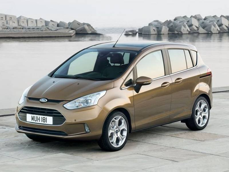 New Ford B-Max car configurator and price list 2018