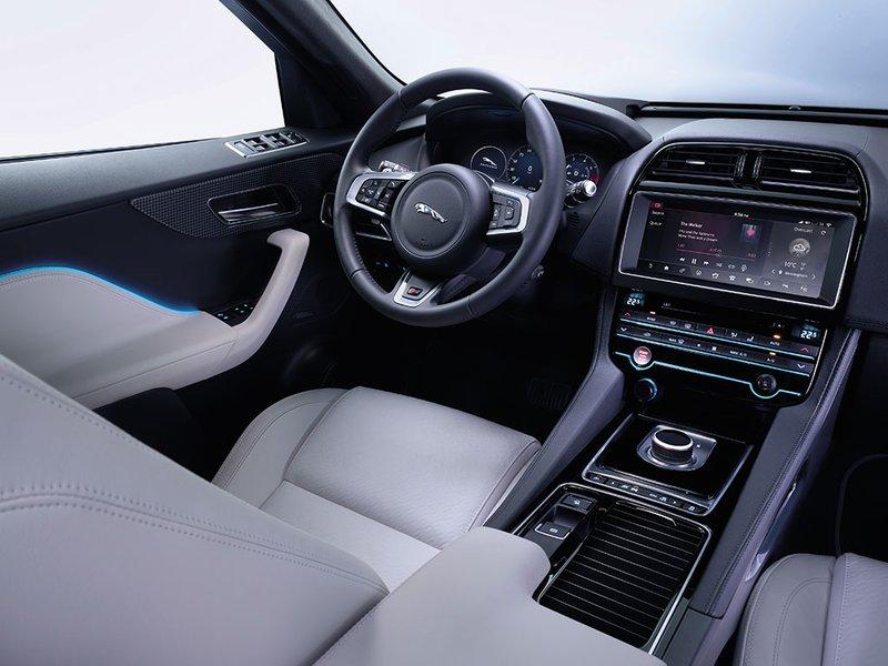 Jaguar F Pace White Interior >> New Jaguar F Pace Car Configurator And Price List 2019