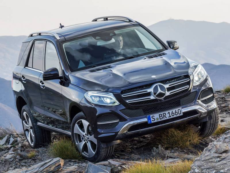 New mercedes benz gle suv car configurator and price list 2018 for Mercedes benz list of cars