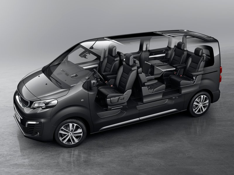 New Mercedes Minivan >> Peugeot Configurator and Price List for the New Traveller