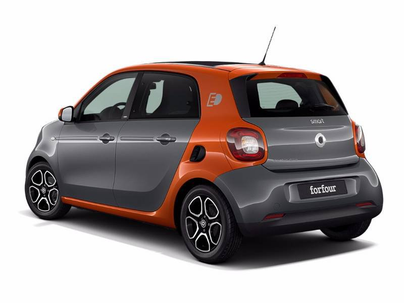 new smart forfour electric drive car configurator and price list 2018. Black Bedroom Furniture Sets. Home Design Ideas