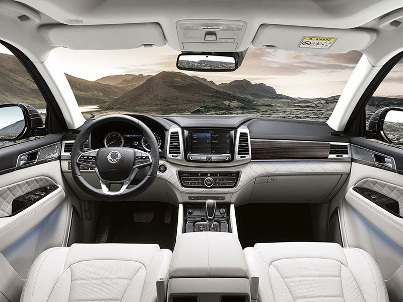 Range Rover Configurator >> SsangYong Configurator and Price List for the New New Rexton