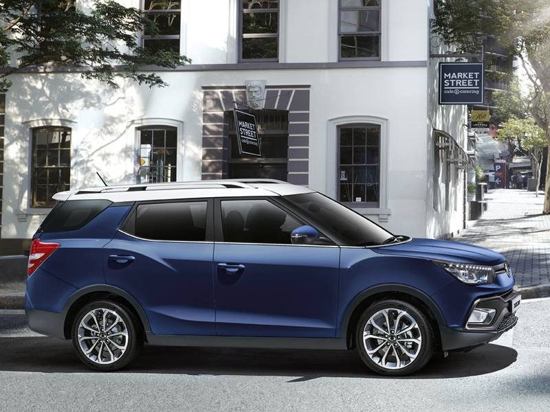 New Ssangyong Xlv Car Configurator And Price List 2019