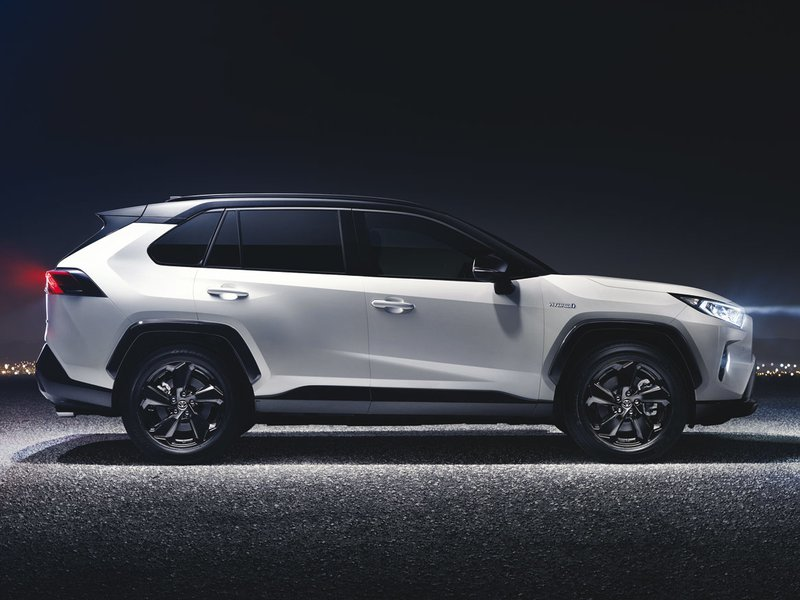 Toyota Configurator And Price List For The New Rav4 Hybrid