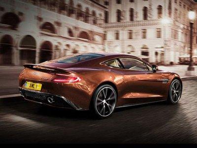 2017 Aston Martin Vanquish Coupé