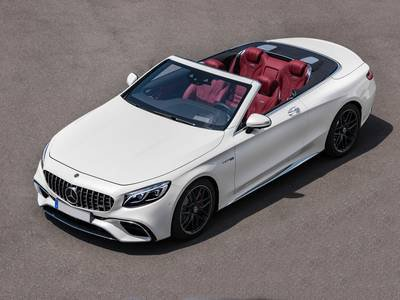 Mercedes-Benz Nuova Classe S Cabriolet