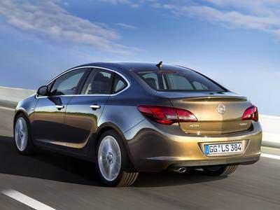 2018 Opel Astra Sedan