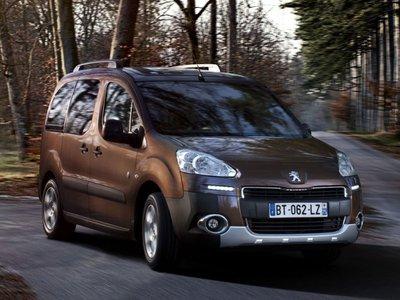 2017 Peugeot Partner Tepee
