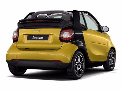 2018 Smart fortwo cabrio