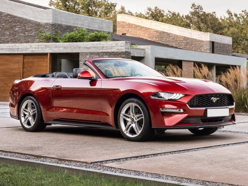 ford mustang convertible 2 3 ecoboost 317cv automatico. Black Bedroom Furniture Sets. Home Design Ideas