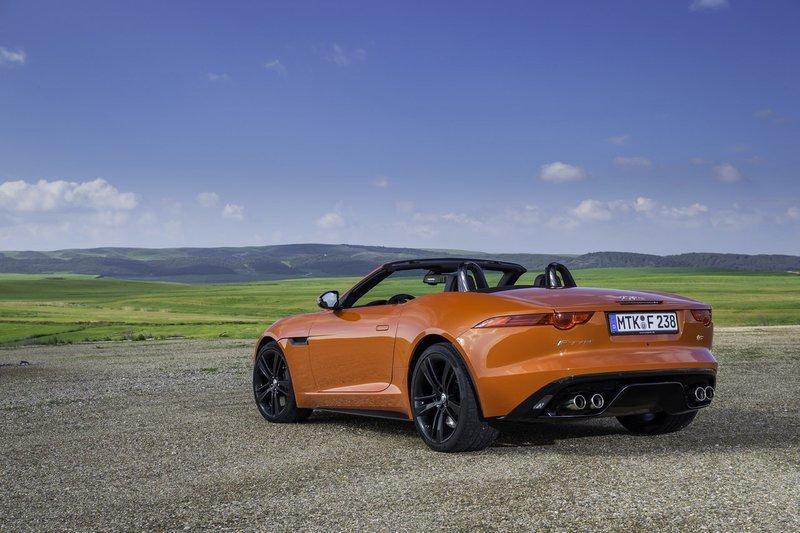 Configuratore nuova Jaguar F-Type Convertible e listino ...