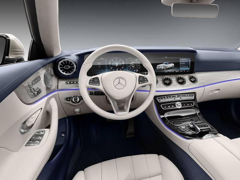 configuratore nuova mercedes benz classe e cabrio e listino prezzi 2018. Black Bedroom Furniture Sets. Home Design Ideas