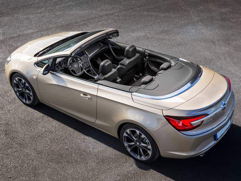 Configuratore Nuova Opel Cascada E Listino Prezzi 2018