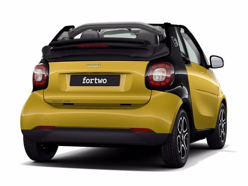 configuratore nuova smart fortwo cabrio electric drive e listino prezzi 2018. Black Bedroom Furniture Sets. Home Design Ideas