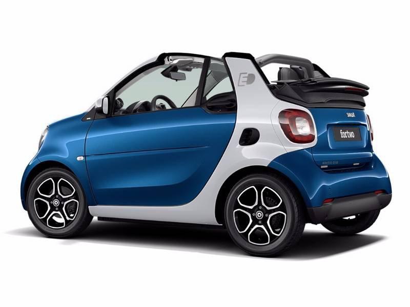Configuratore Nuova Smart Fortwo Cabrio Electric Drive E